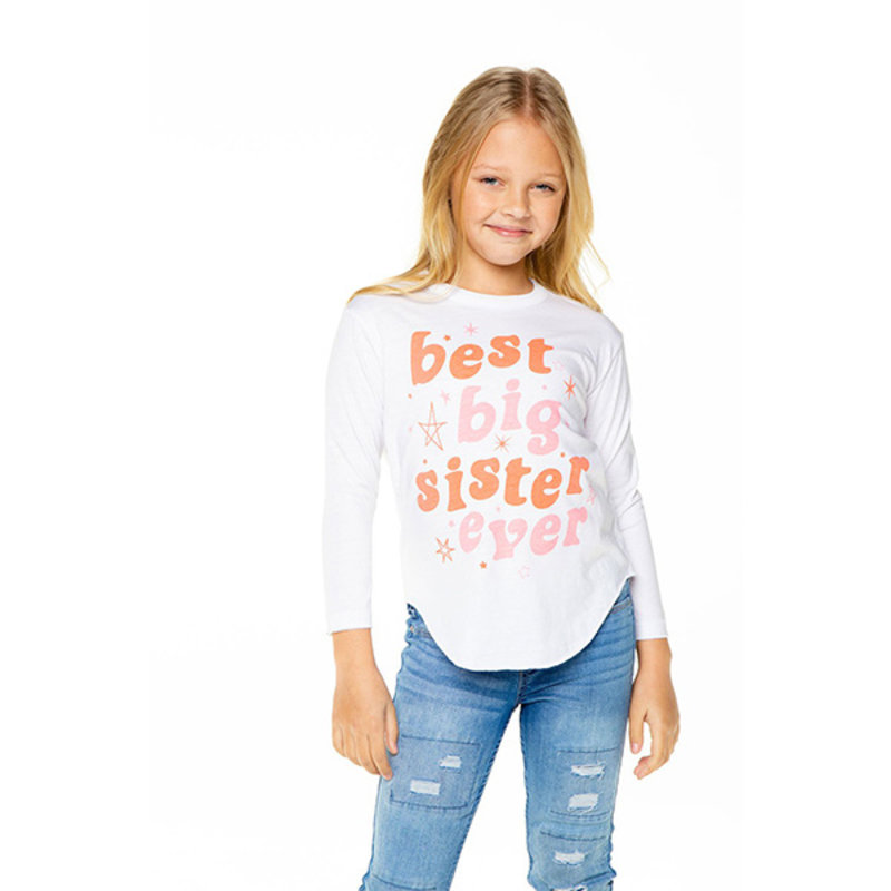 Chaser Kids Chaser Girls LS Tee