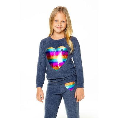 Chaser Kids Chaser Girls Raglan PO