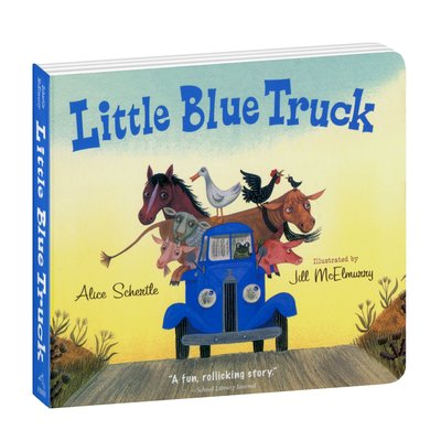 YOTTOY YOTTOY Little Blue Truck Book