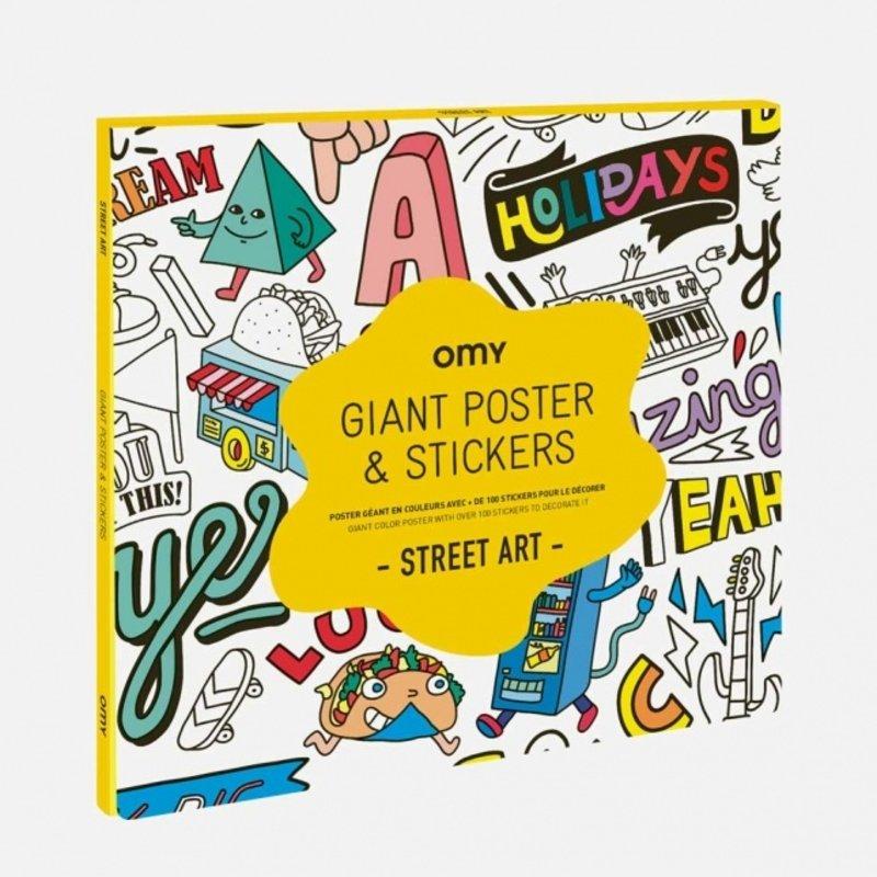 OMY Design OMY Design Sticker Poster