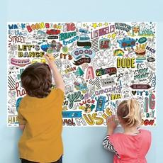 OMY Design OMY Design Street Art Sticker Poster