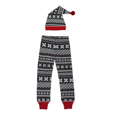 L'ovedbaby L'ovedbaby Organic Men's Holiday PJ Set