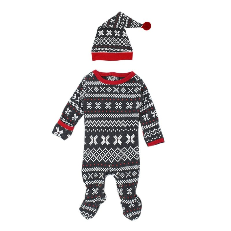 L'ovedbaby L'ovedbaby Organic Baby  Overall/Cap Set