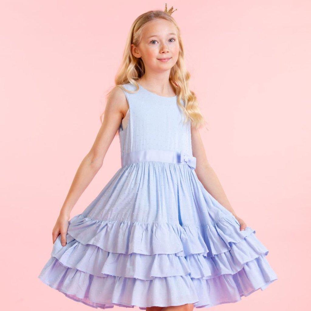Holly Hastie Holly Hastie Girls Arabella Dobby Dress