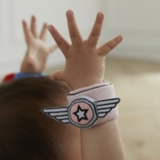 Asweets Asweets Super Hero Wrist Rattles - Pink