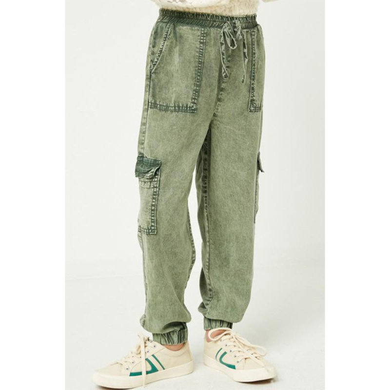 Hayden Mineral Washed Cargo Joggers