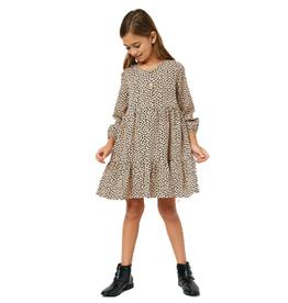 Hayden Tiered Buttoned Mini Dress