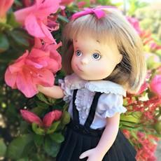 "YOTTOY YOTTOY Eloise 8"" Poseable Doll w/ Skipperdee"