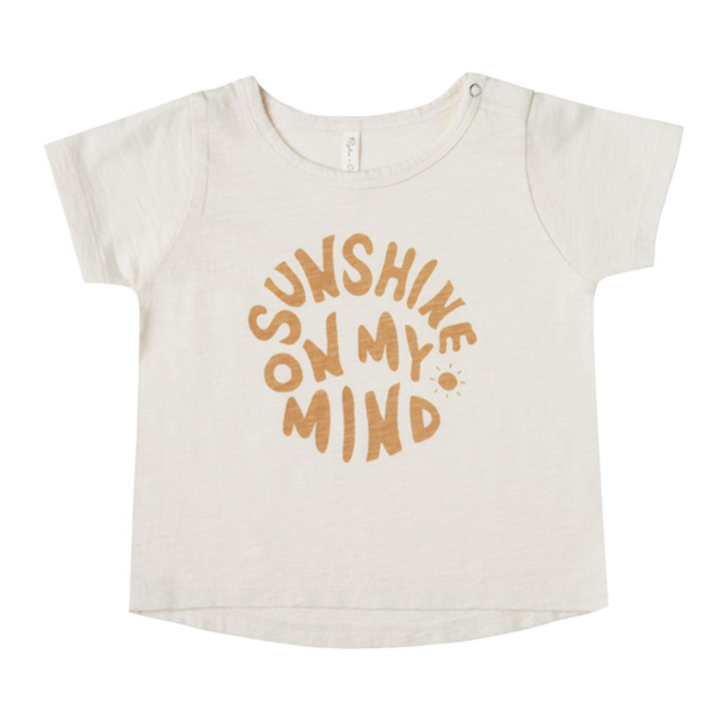 Rylee & Cru Rylee & Cru Kids Sunshine Mind Basic Tee