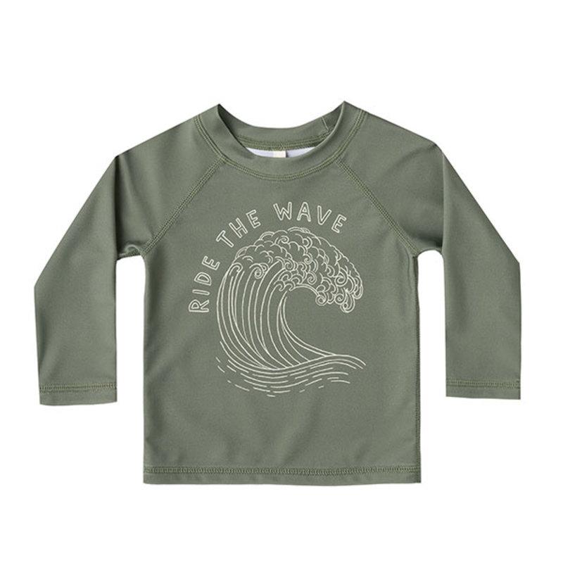 Rylee & Cru Rylee & Cru Baby Ride Wave Rashguard