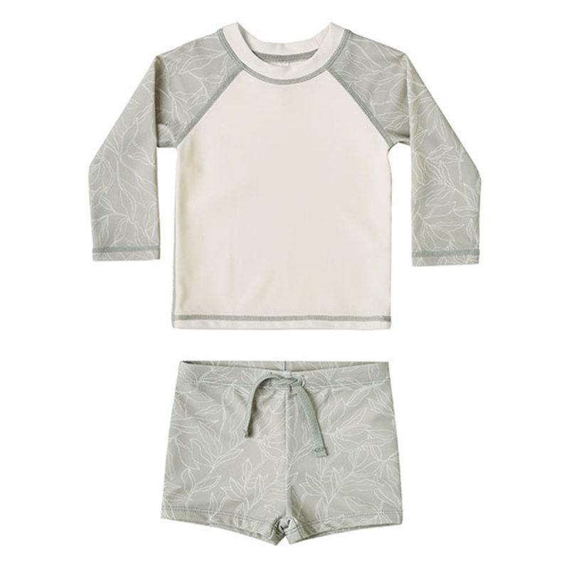 Rylee & Cru Rylee & Cru Baby Fern Rashguard Set