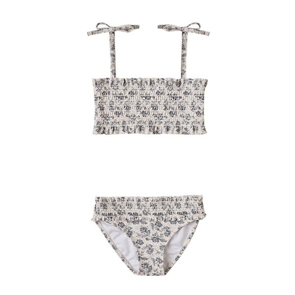 Rylee & Cru Rylee & Cru Girls Roses Smocked Bikini