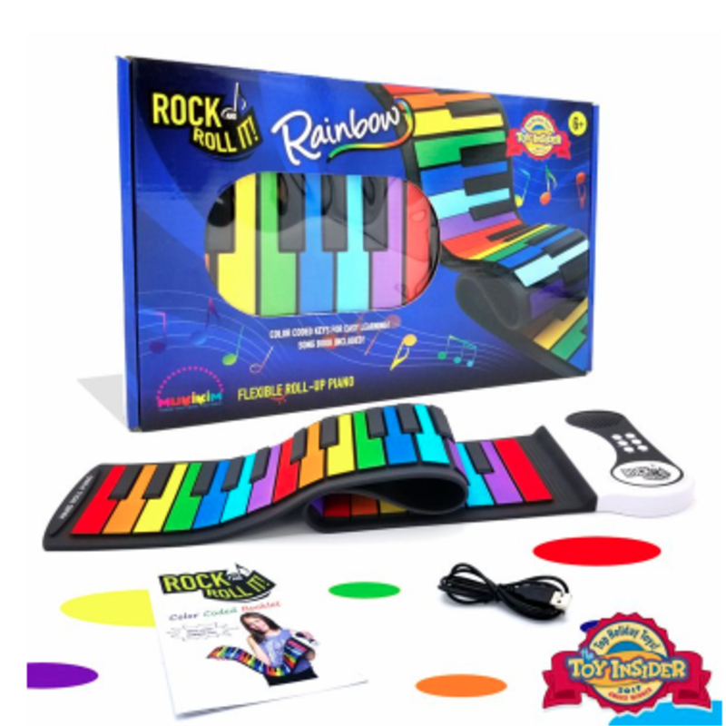 Mukikim Mukikim Rock & Roll It - Rainbow Piano