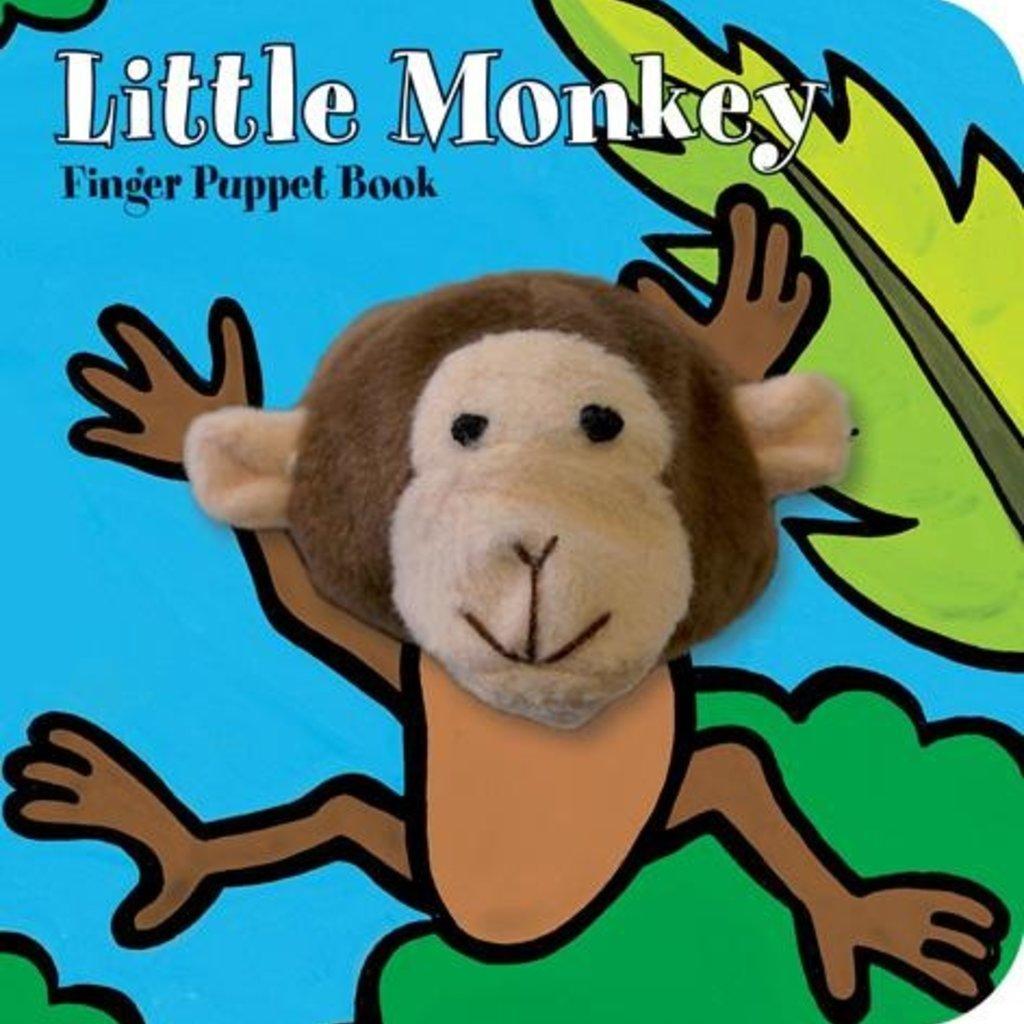 Chronicle Books Little Monkey: Finger Puppet Book