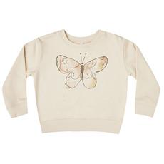 Rylee & Cru Rylee & Cru Baby Girls Butterfly Terry Sweatshirt