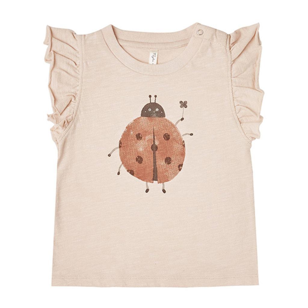Rylee & Cru Rylee & Cru Baby Ladybug Ruffle Tank