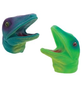 Streamline Colorful Lizard Hand Puppets