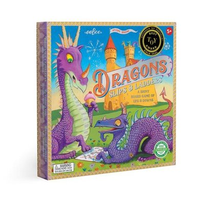 eeBoo Dragon Slips and Ladders Board Game