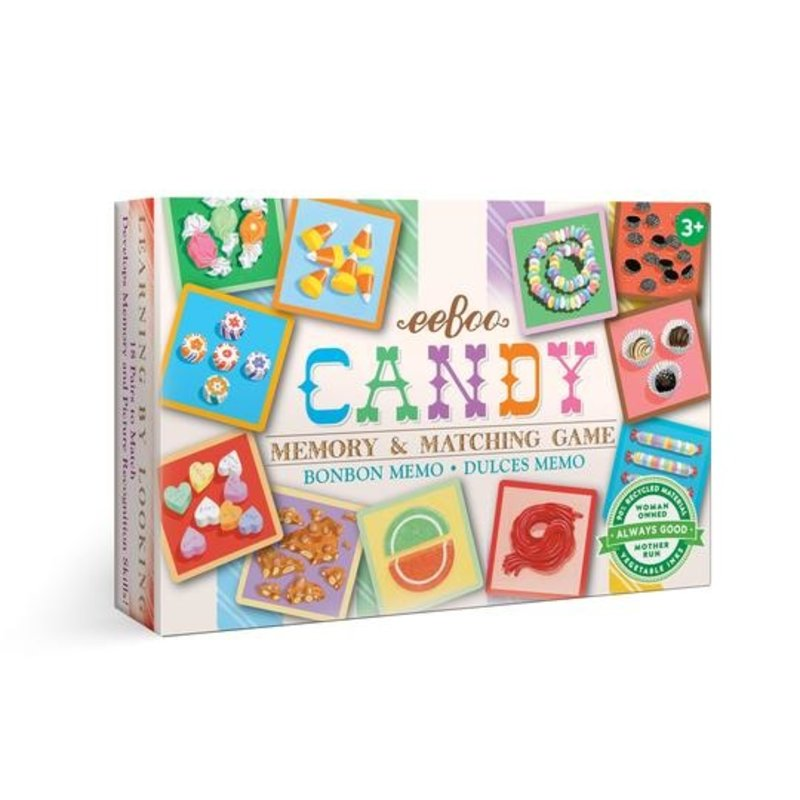eeBoo Candy Little Matching Game