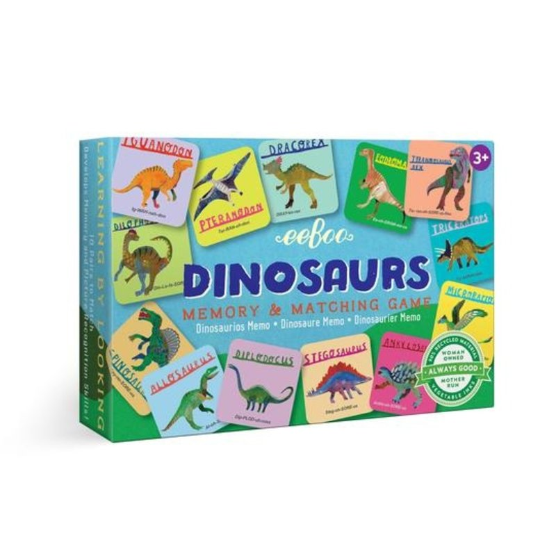 eeBoo Dinosaurs Little Matching Game