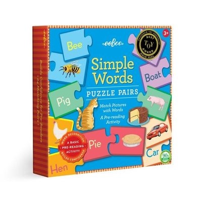 eeBoo Simple Word Puzzles