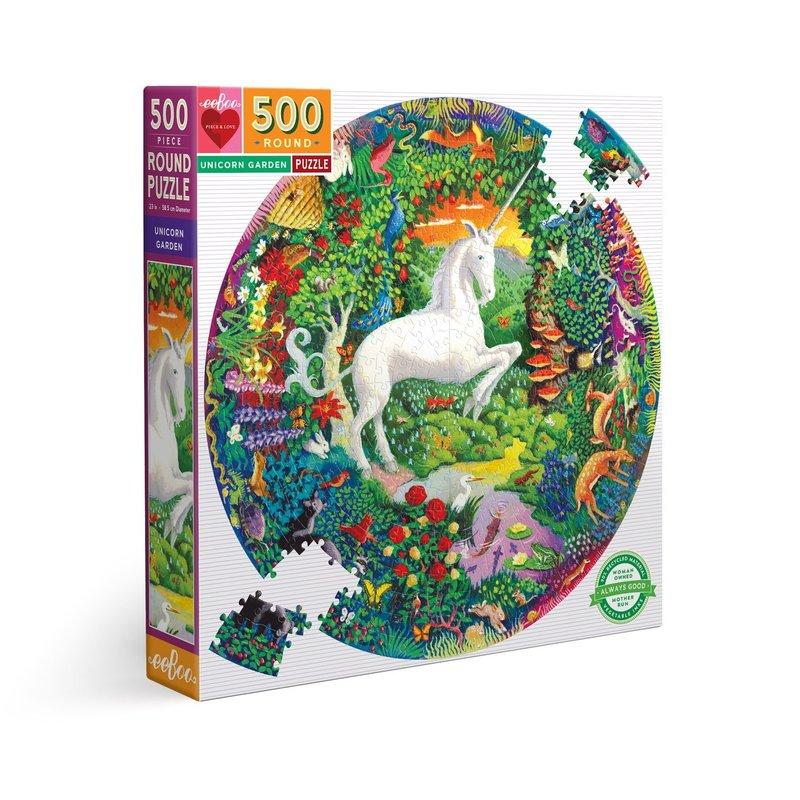 eeBoo Unicorn Garden Puzzle