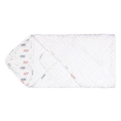 Nest Designs Organic Cotton Hooded Towel Wrap