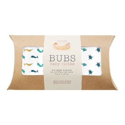 Nest Designs Bamboo Bubs Baby Wash Cloth Set