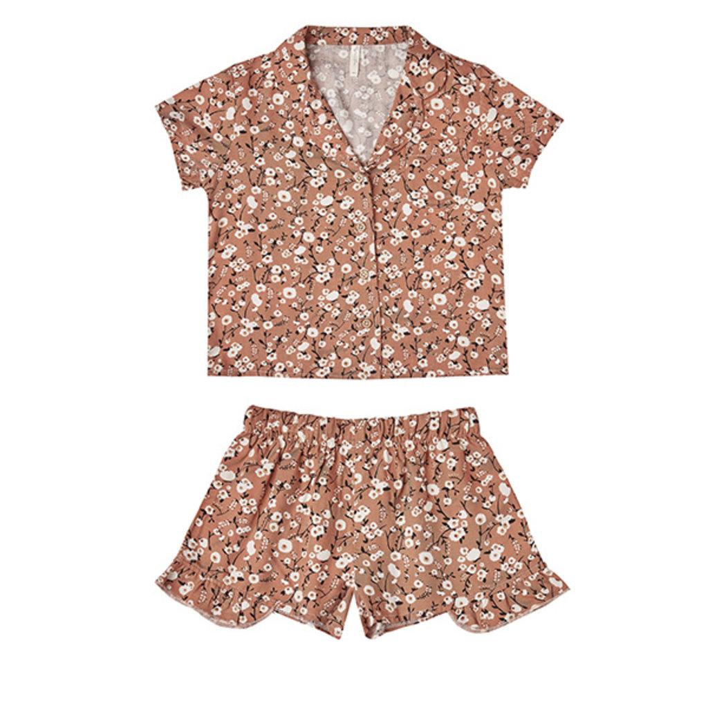 Rylee & Cru Rylee & Cru Junior Girls Dahlia Bedtime Pajama Set