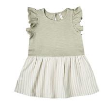 Rylee & Cru Rylee & Cru Girls Striped Grid Coury Dress