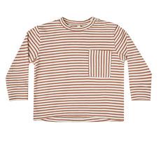 Rylee & Cru Rylee & Cru Teen Boys Striped Long Sleeve Skater Tee