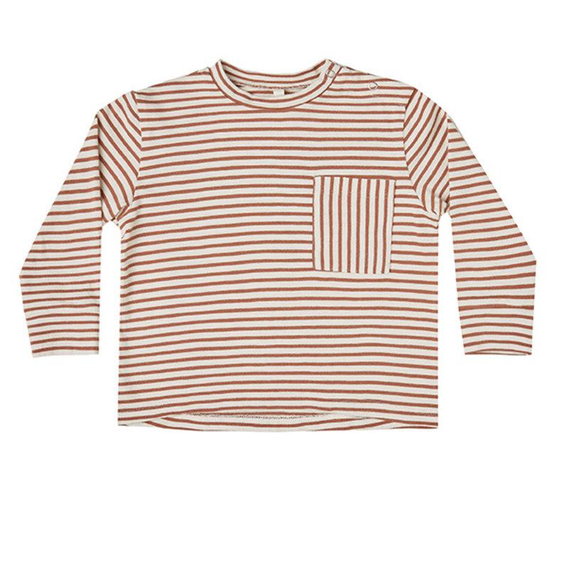 Rylee & Cru Rylee & Cru Teen Boys Striped Tee