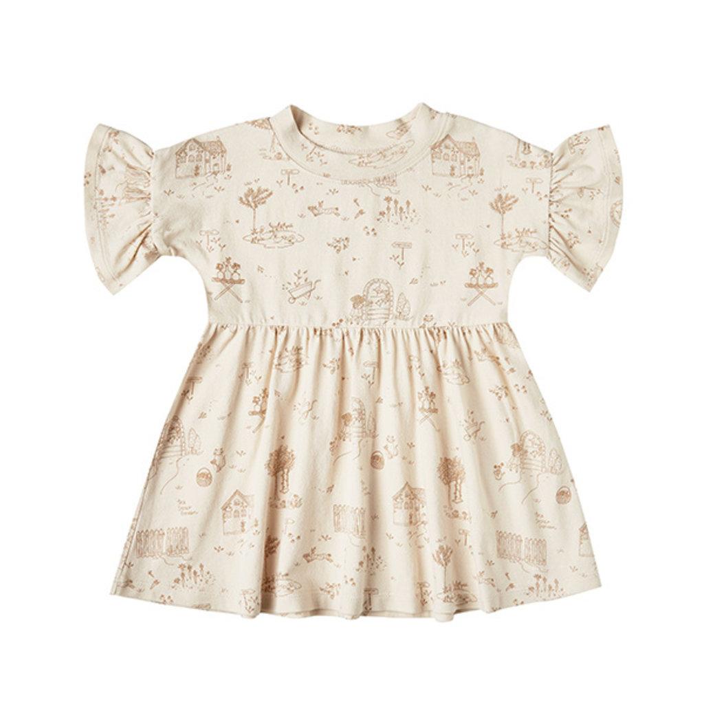 Rylee & Cru Rylee & Cru Girls Secret Garden Babydoll Dress
