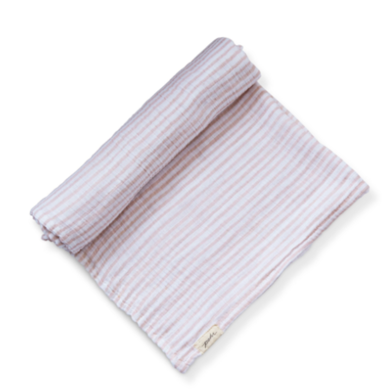 Pehr Designs Pehr Striped Away Swaddles - Petal