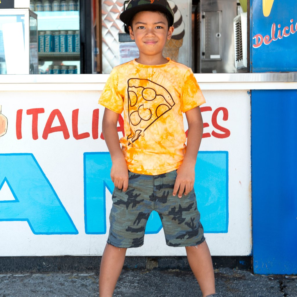 Appaman Appaman Boys Pizza Slice Short Sleeve Tee
