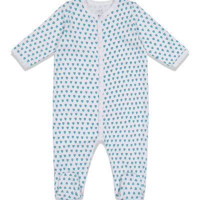 Roller Rabbit Roller Rabbit Hearts Infant Footie PJs