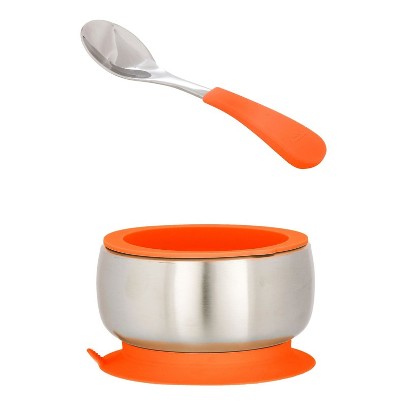 Avanchy Avanchy SS Baby Bowl & Spoon