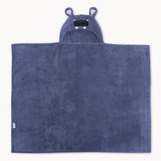 Natemia Hippo Bamboo Hooded Towel