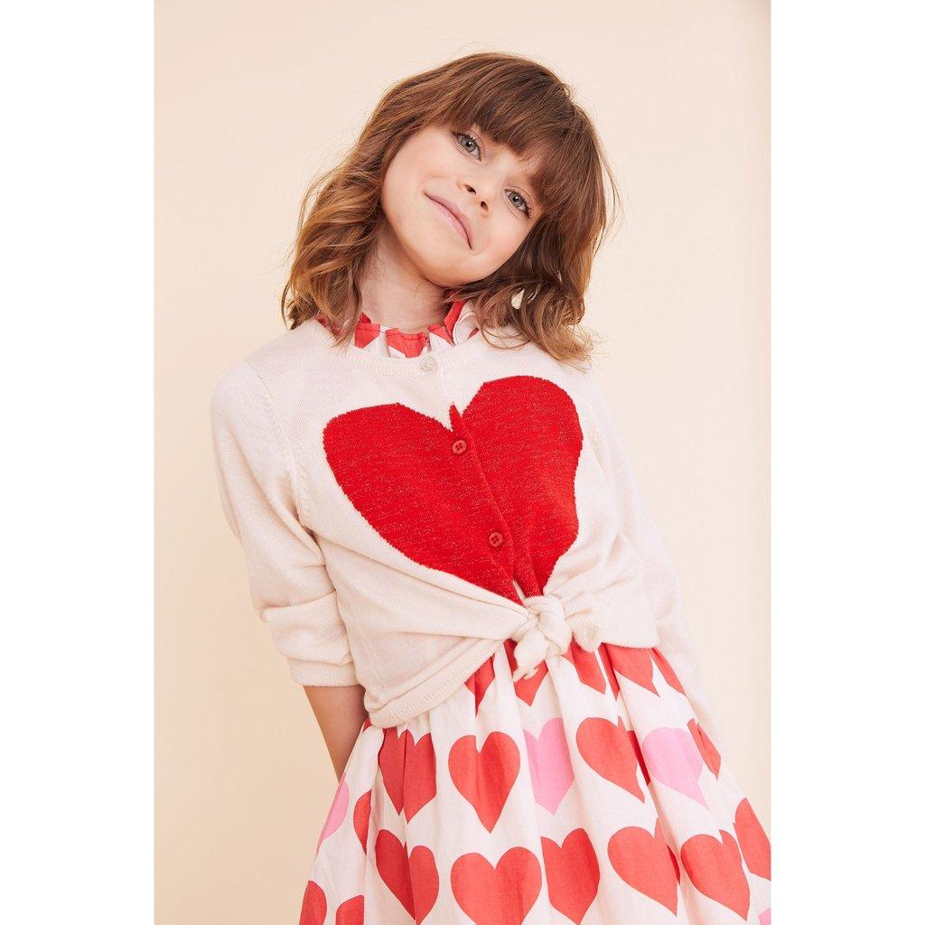 Pink Chicken Pink Chicken Hannah Heart Sweater