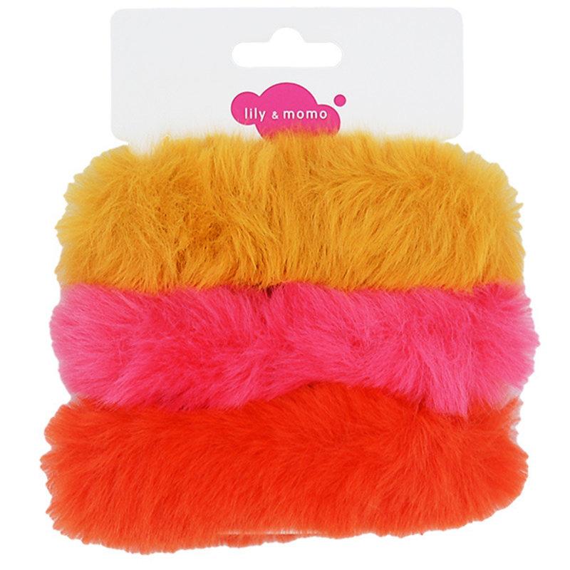 Lily & Momo Furry Scrunchie