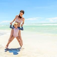 Snapper Rock Snapper Rock Women's Leopard Bralette Bikini Top