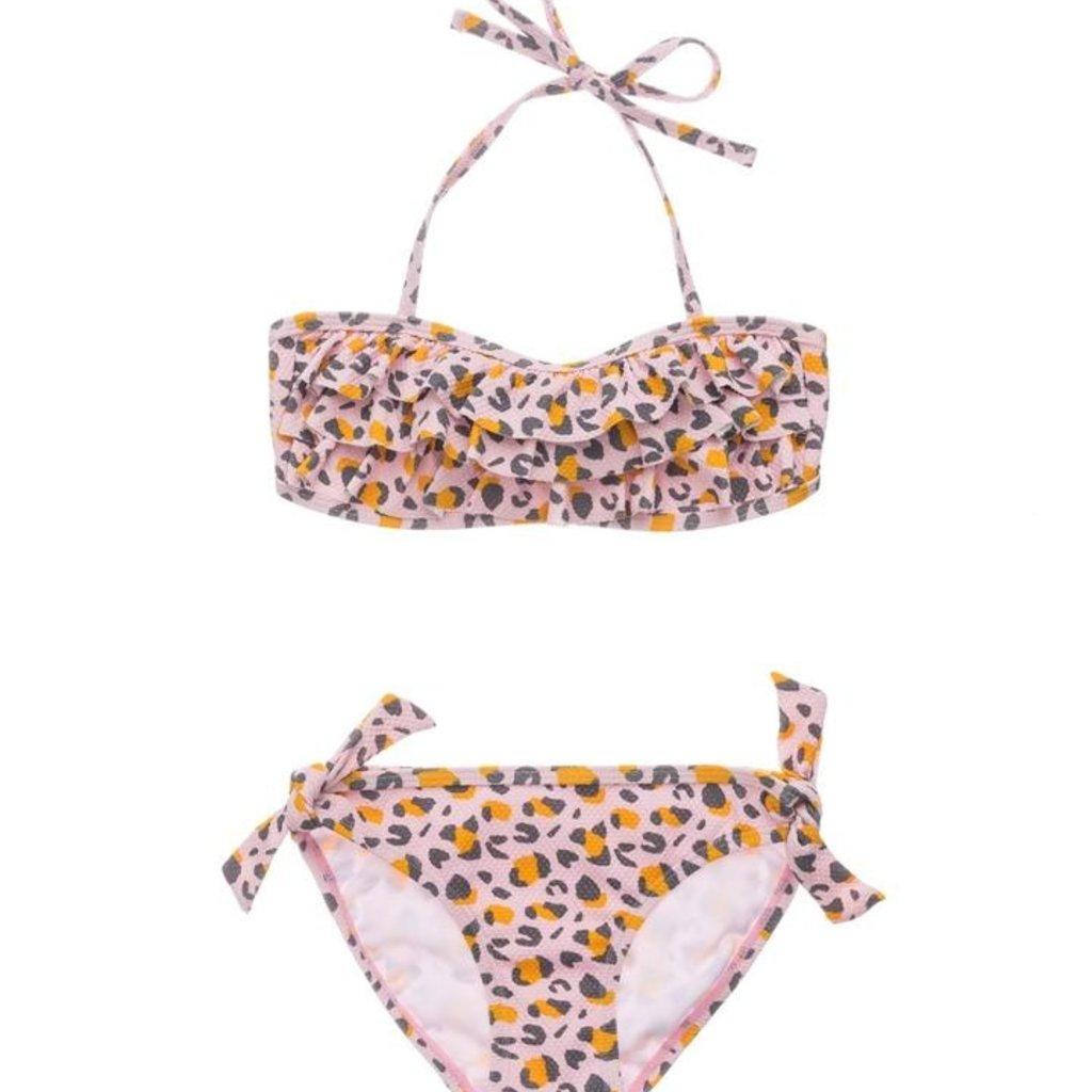 Snapper Rock Snapper Rock Girls Leopard Love Bandeau Bikini