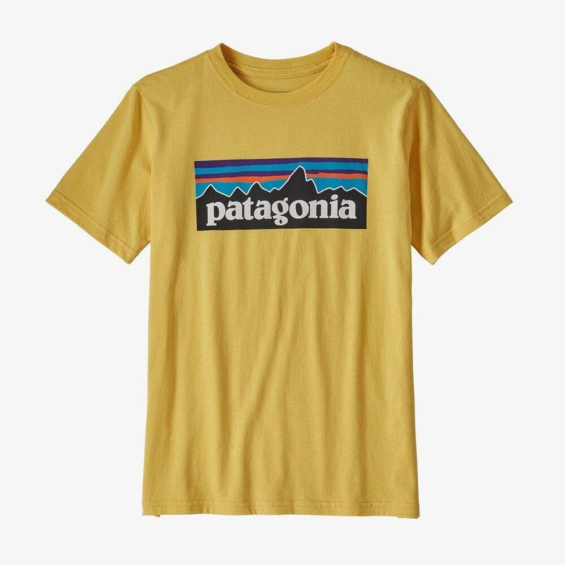 Patagonia Patagonia Boys Logo Organic Tee