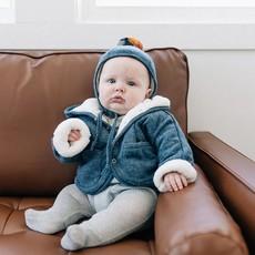Oh Baby Winter Pilot Cap Pom Pom