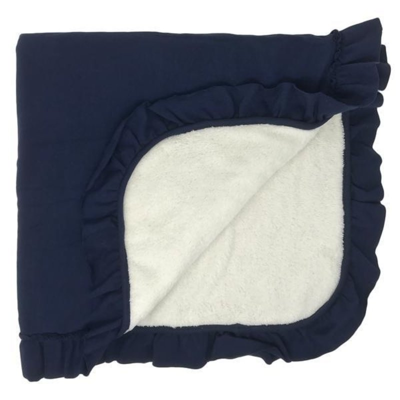 Oh Baby Winter Snowdrift Receiving Blanket
