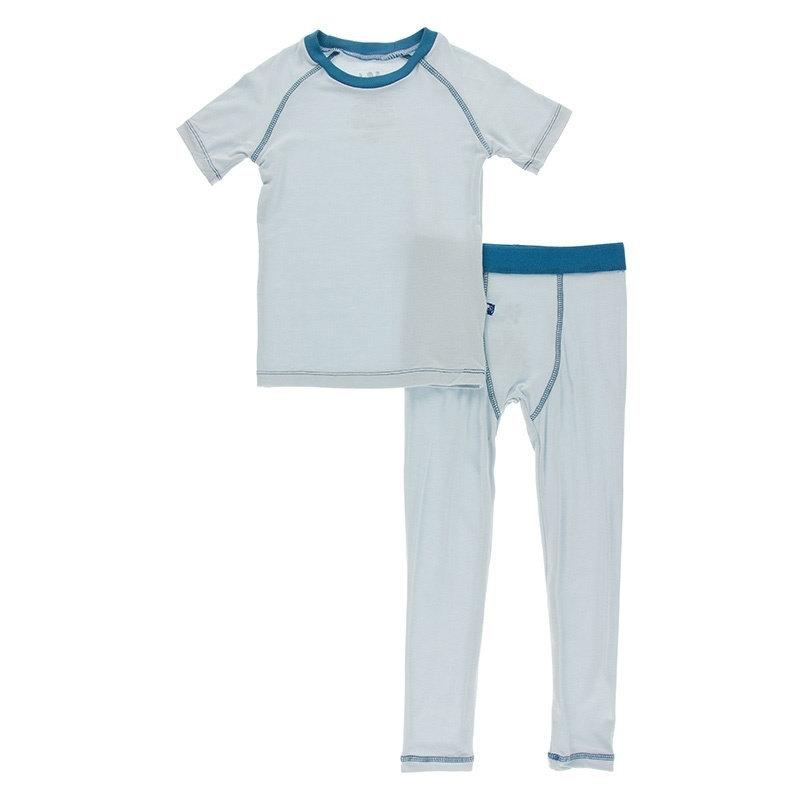 KicKee Pants KicKee Pants S/S Sport PJ Set