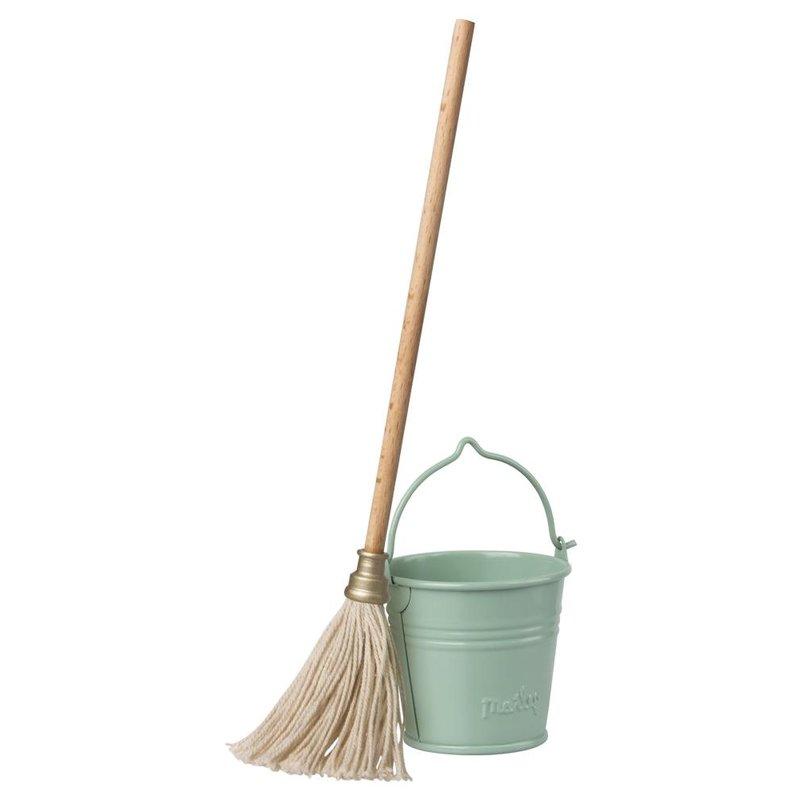 Maileg Maileg Bucket & Mop