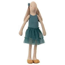 Maileg Maileg Bunny Size 3, Ballerina - Petrol