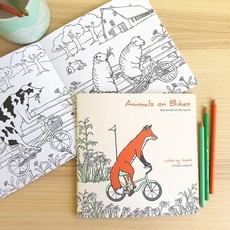 Amélie Legault Amélie Legault Animals on Bikes FST - Coloring Book