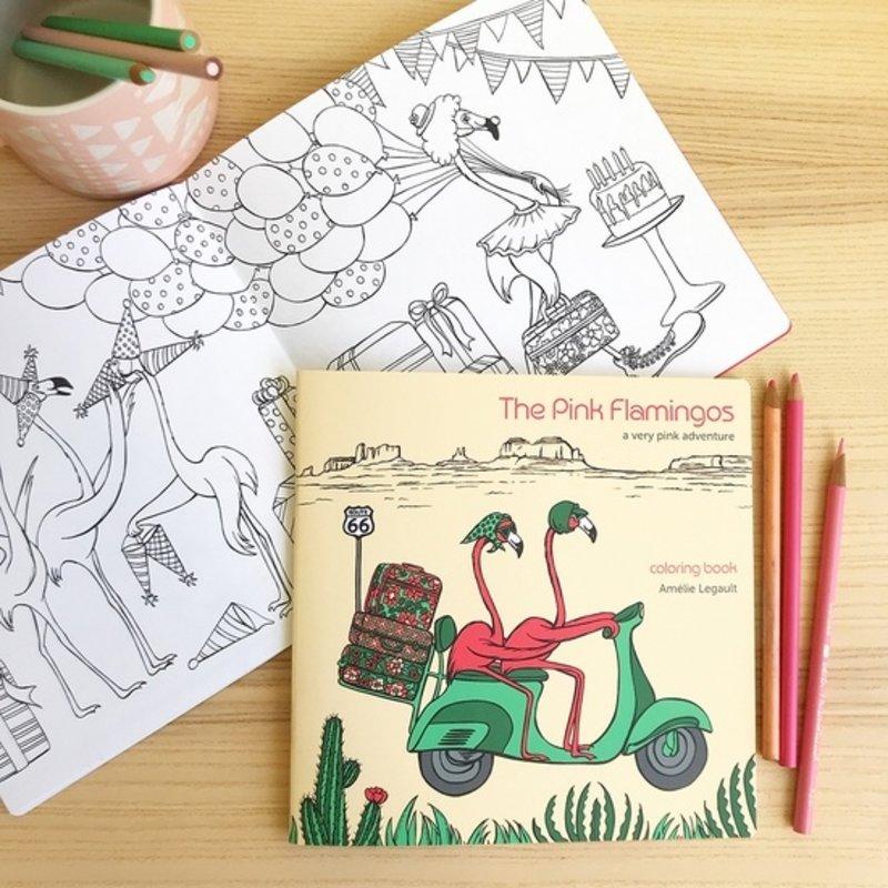 Amélie Legault Amélie Legault Flamingos - Coloring Book